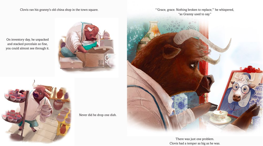 celebrate-picture-books-picture-book-review-clovis-keeps-his-cool-Granny