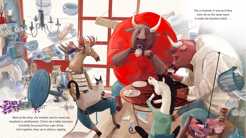 celebrate-picture-books-picture-book-review-clovis-keeps-his-cool-tea-with-rivals