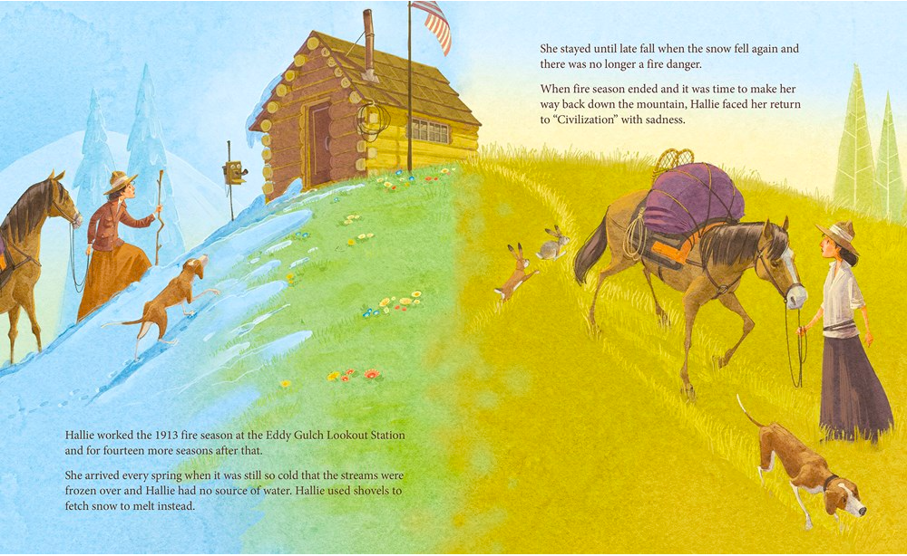 celebrate-picture-books-picture-book-review-headstrong-hallie-cabin