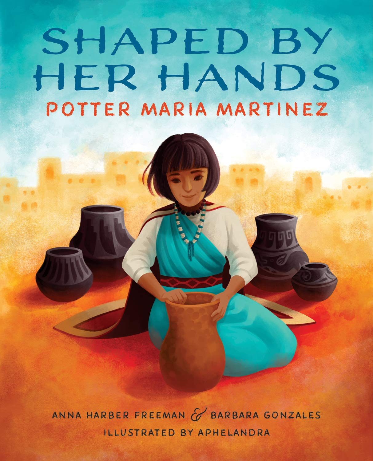 celebrate-picture-books-picture-book-review-shaped-by-her-hands-cover