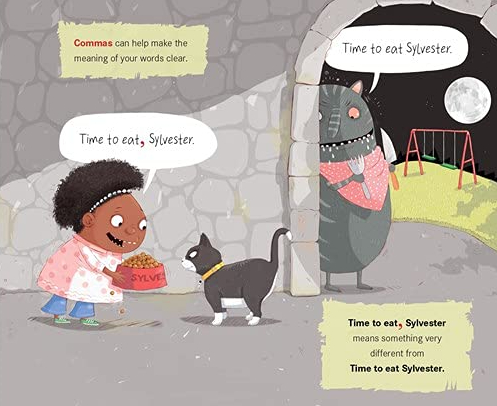 celebrate-picture-books-picture-book-review-the-ghouls-guide-to-good-grammar-commas-2