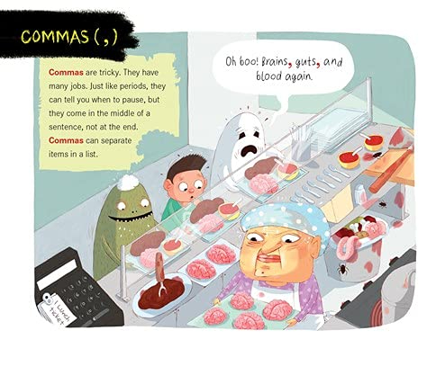 celebrate-picture-books-picture-book-review-the-ghouls-guide-to-good-grammar-commas