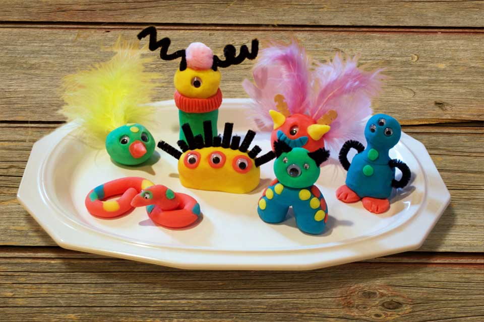 Highlights Kids Homemade Clay figures