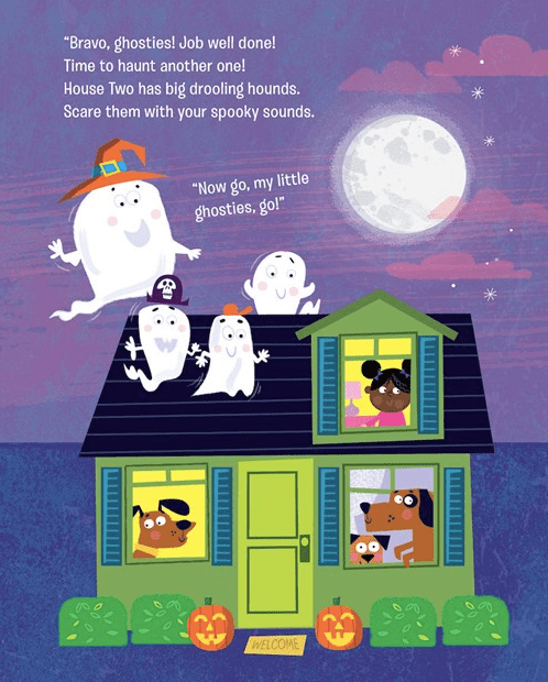 celebrate-picture-books-picture-book-review-how-to-haunt-a-house-dogs