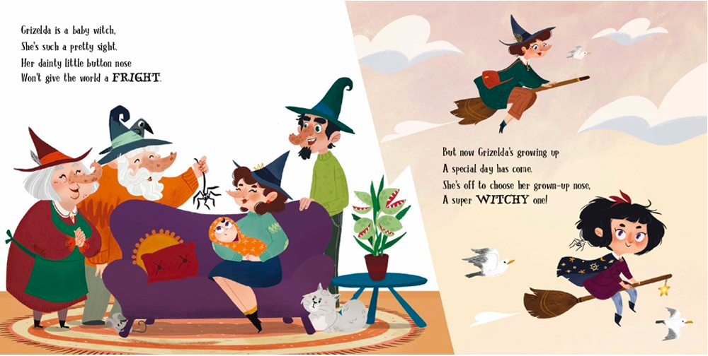 celebrate-picture-books-picture-book-review-which-nose-for-witch-family