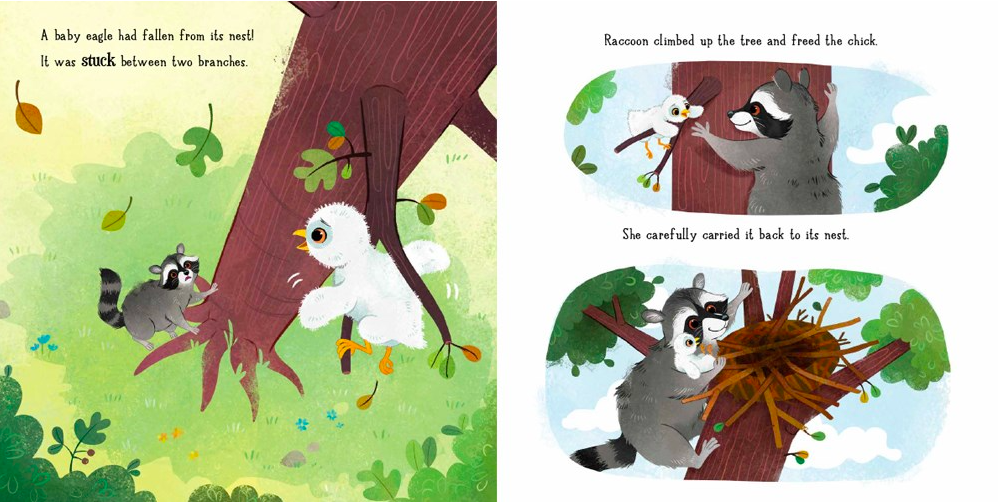 celebrate-picture-books-picture-book-review-raccoon-and-the-hot-air-balloon-eagle-chick