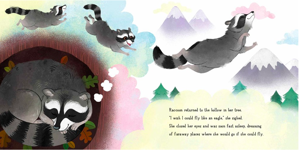 celebrate-picture-books-picture-book-review-raccoon-and-the-hot-air-balloon-dreaming