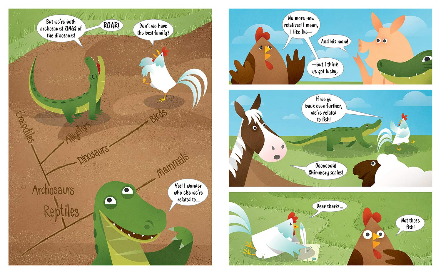 celebrate-picture-books-picture-book-review-chicken-frank-dinosaur-archosaurs