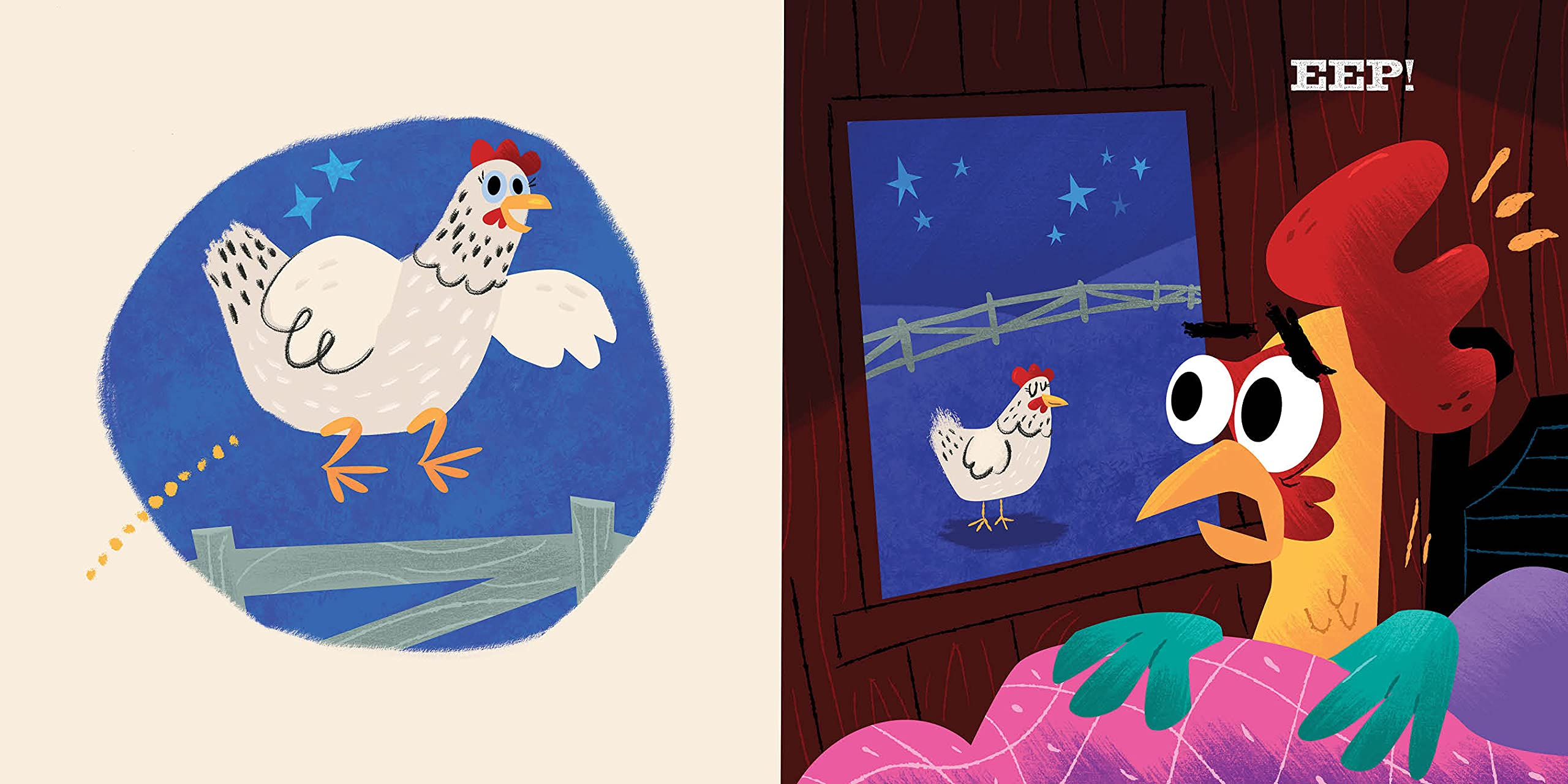 celebrate-picture-books-picture-book-review-one-sheep-two-sheep-chicken