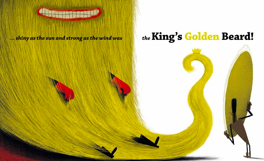 celebrate-picture-books-picture-book-review-the-king's-golden-beard-mirror